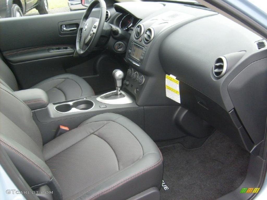 Black Interior 2011 Nissan Rogue Sl Awd Photo 46881044