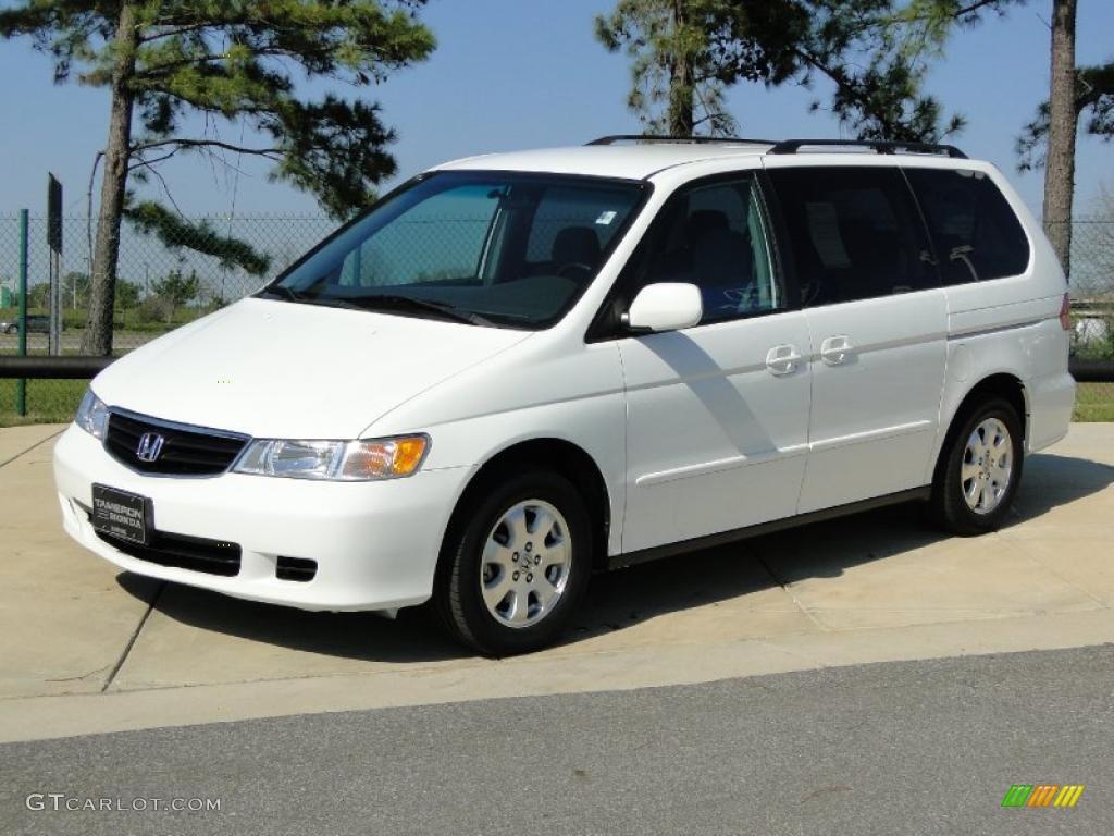 Taffeta White 2002 Honda Odyssey Ex Exterior Photo