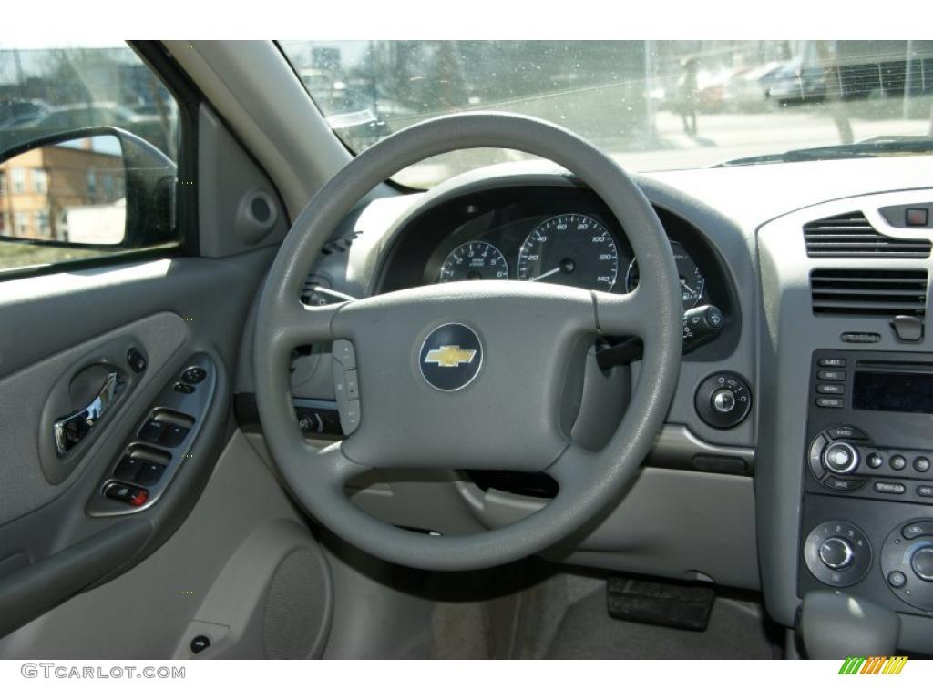 2006 Chevrolet Malibu Ls Sedan Anium Gray Steering Wheel Photo