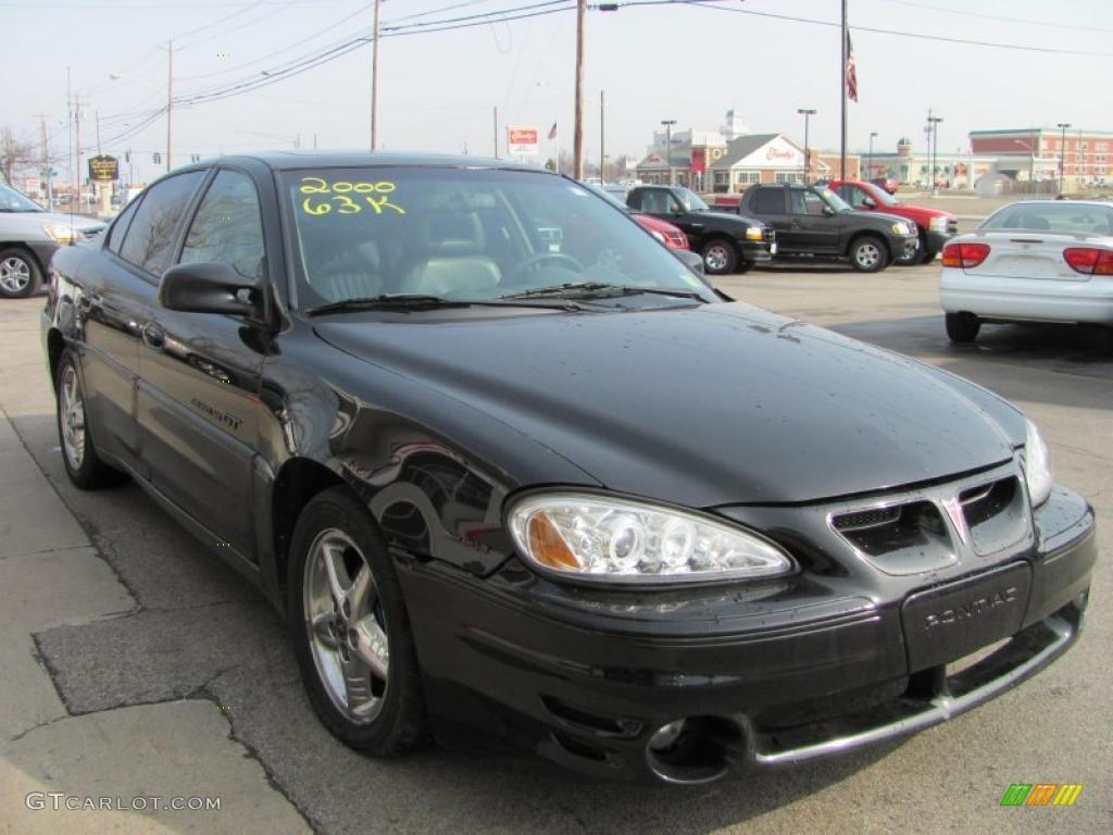2000 black pontiac grand am gt sedan 46870240 gtcarlot com car color galleries gtcarlot com