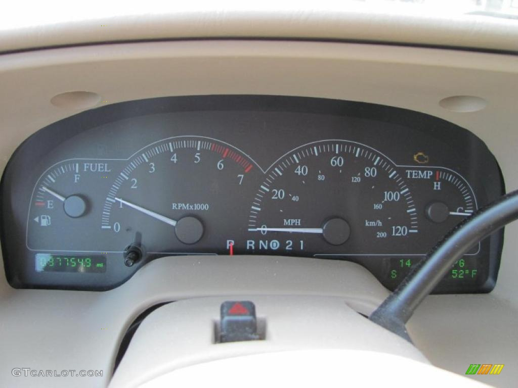 2003 Ford Windstar Limited Gauges Photo 46915142