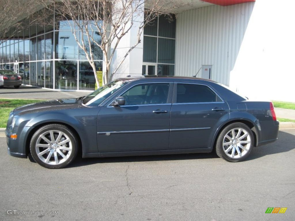 Steel Blue Metallic 2008 Chrysler 300 C Srt8 Exterior