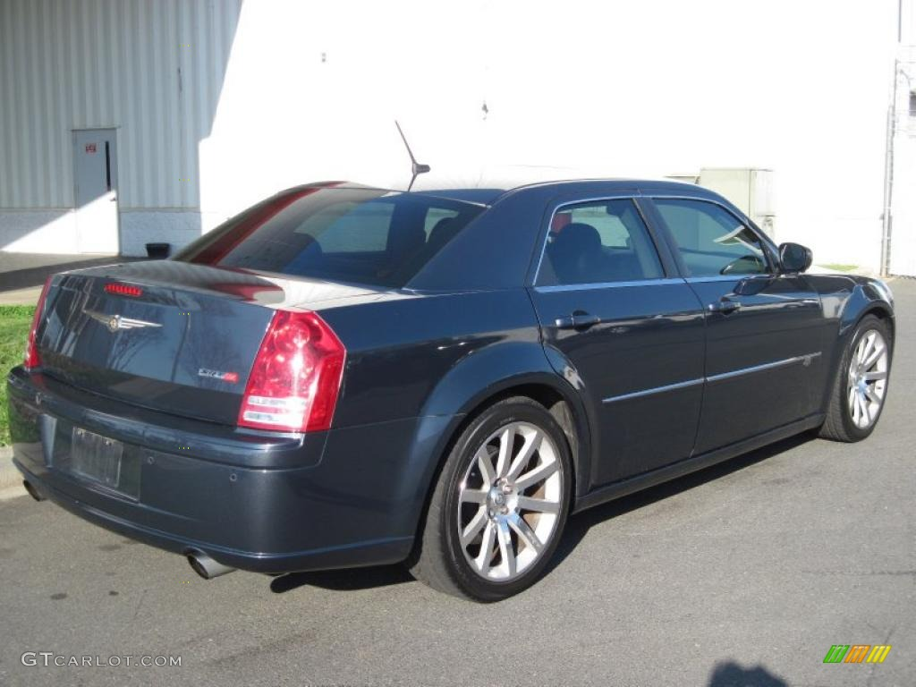 steel blue metallic 2008 chrysler 300 c srt8 exterior. Black Bedroom Furniture Sets. Home Design Ideas