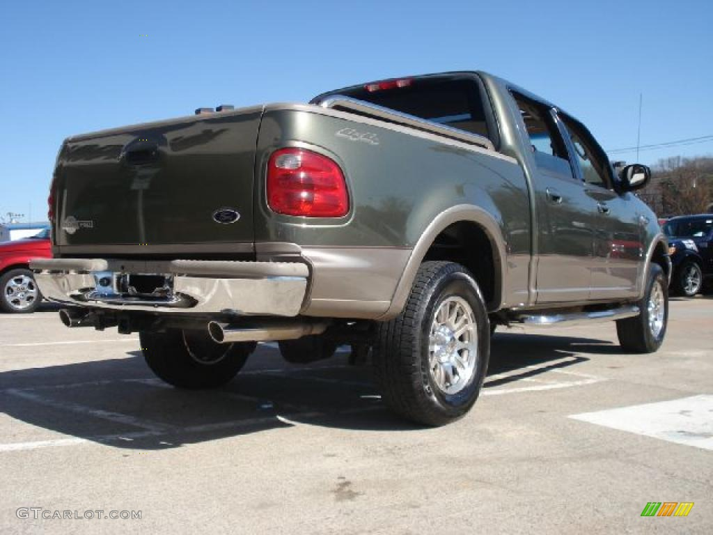 Chestnut metallic 2001 ford f150 xlt supercab 4x4 exterior photo - Estate Green Metallic 2003 Ford F150 King Ranch Supercrew 4x4 Exterior Photo 46921316