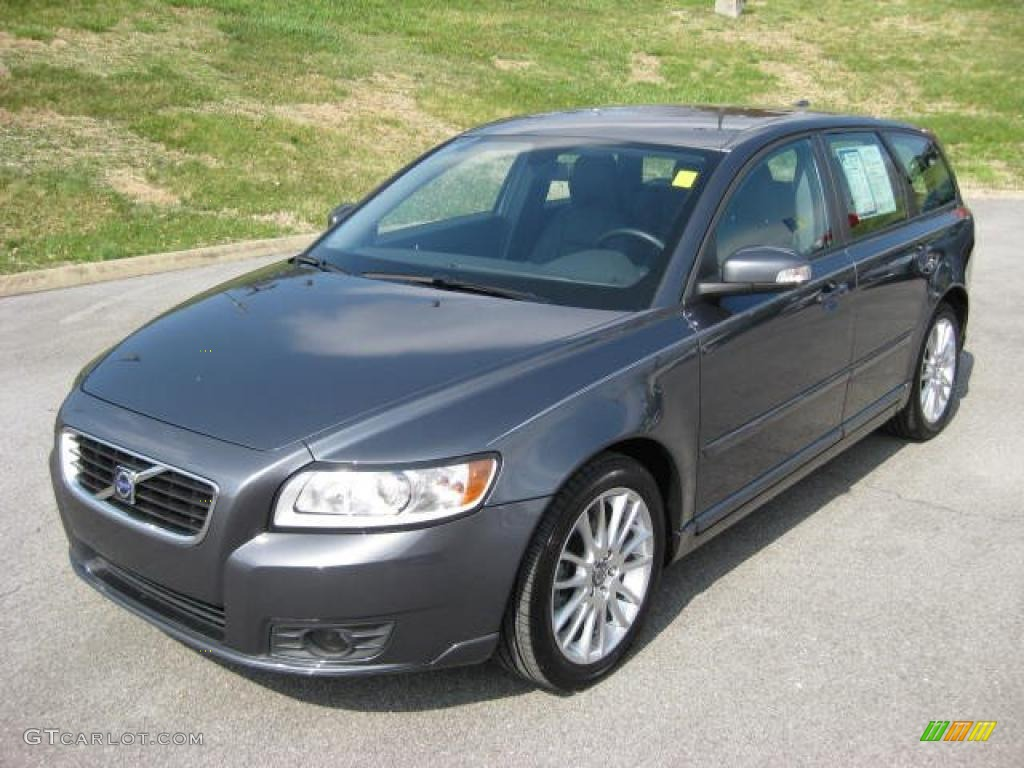 Titanium Grey Metallic 2010 Volvo V50 2 4i Exterior Photo 46922867 Gtcarlot Com