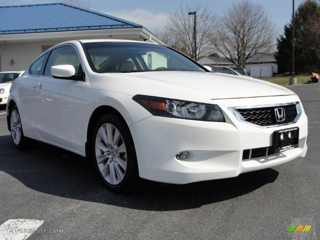 2010 Taffeta White Honda Accord Ex L V6 Coupe 46870067