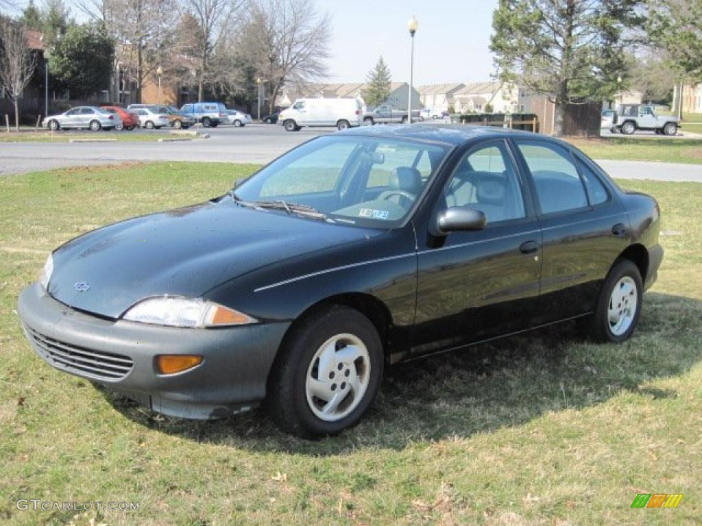 black 1999 chevrolet cavalier sedan exterior photo. Black Bedroom Furniture Sets. Home Design Ideas