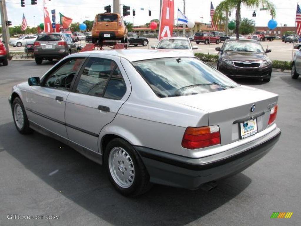 Sterling Silver Metallic 1992 BMW 3 Series 325i Sedan ...