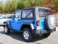 2011 Cosmos Blue Jeep Wrangler Sport 4x4  photo #4