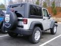 2011 Bright Silver Metallic Jeep Wrangler Sport S 4x4  photo #8