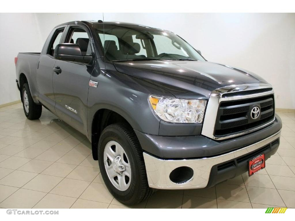 2010 slate gray metallic toyota tundra double cab 4x4. Black Bedroom Furniture Sets. Home Design Ideas