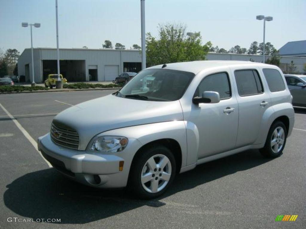 Silver Ice Metallic 2011 Chevrolet Hhr Lt Exterior Photo 46937502 Gtcarlot Com