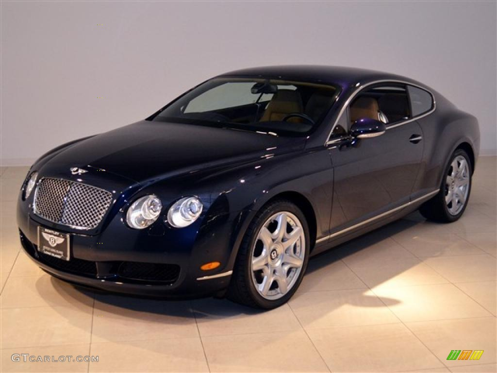 dark sapphire 2006 bentley continental gt mulliner exterior photo. Cars Review. Best American Auto & Cars Review