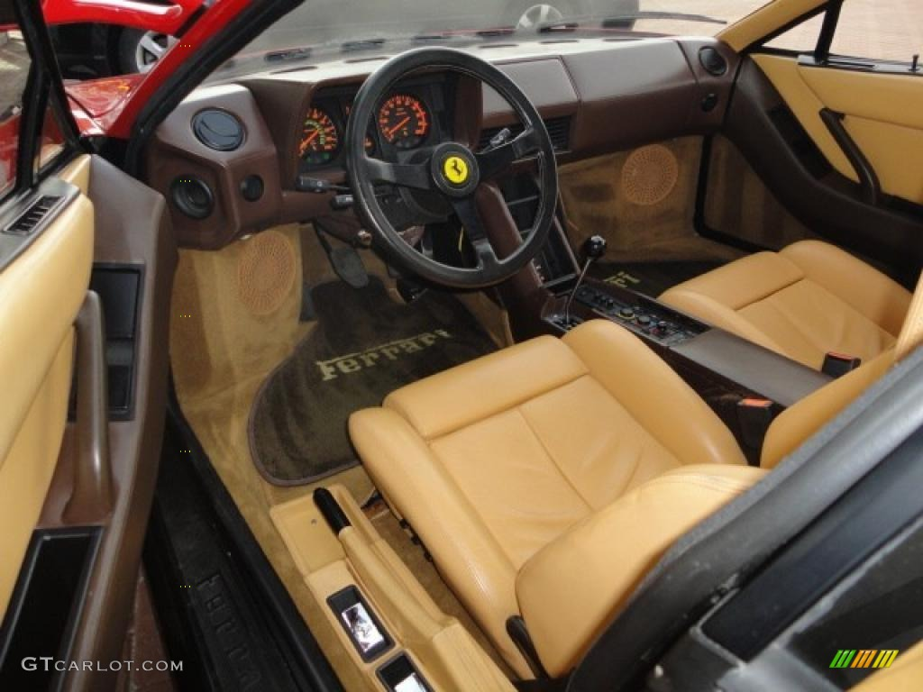 tan interior 1986 ferrari testarossa standard testarossa model photo 46938333. Black Bedroom Furniture Sets. Home Design Ideas