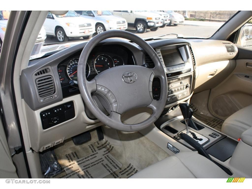 Ivory Interior 2003 Toyota Land Cruiser Standard Land Cruiser Model Photo 46946844