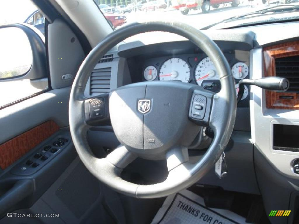 2007 Dodge Ram 1500 Laramie Mega Cab Steering Wheel Photos