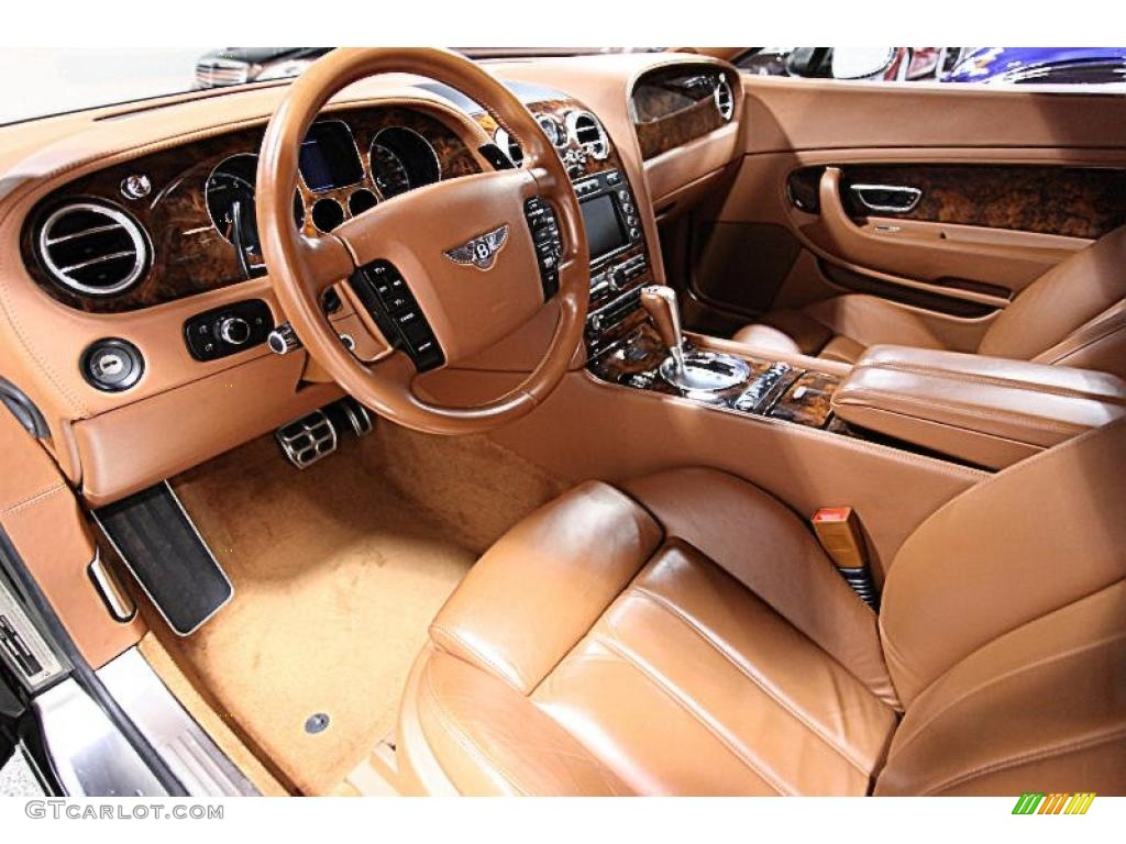 Saddle Interior 2004 Bentley Continental Gt Standard
