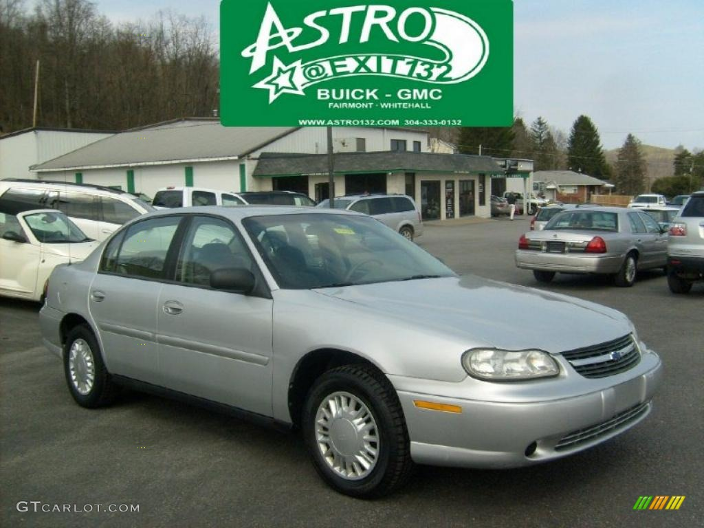 2001 galaxy silver metallic chevrolet malibu sedan. Black Bedroom Furniture Sets. Home Design Ideas