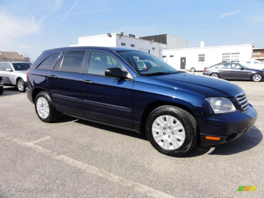 midnight blue pearl 2005 chrysler pacifica standard pacifica model. Cars Review. Best American Auto & Cars Review