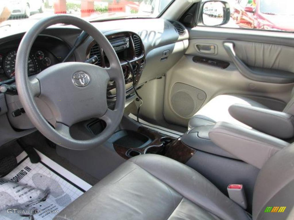 Light Charcoal Interior 2006 Toyota Tundra Sr5 X Sp Double