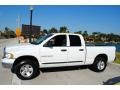 2002 Bright White Dodge Ram 1500 SLT Quad Cab 4x4  photo #2