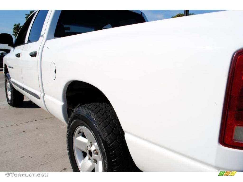 2002 Ram 1500 SLT Quad Cab 4x4 - Bright White / Dark Slate Gray photo #16