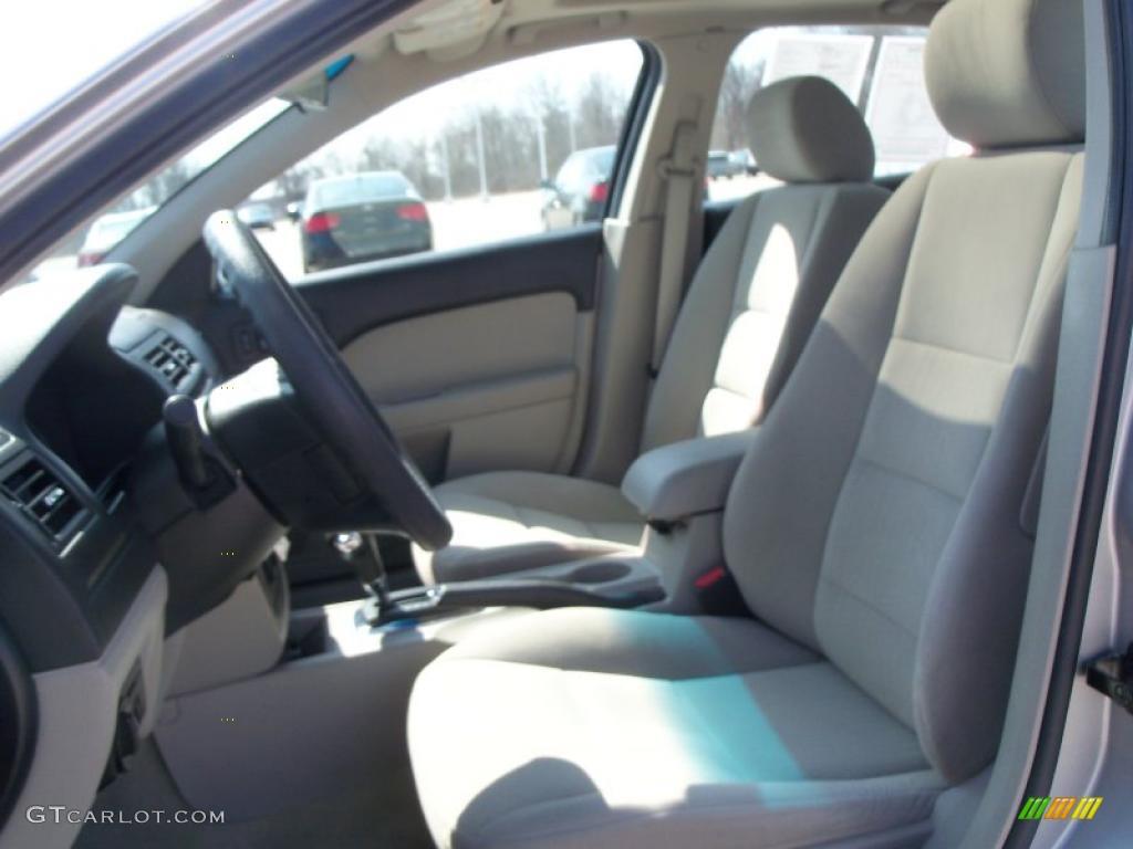 light stone interior 2007 ford fusion se photo 46951614. Black Bedroom Furniture Sets. Home Design Ideas