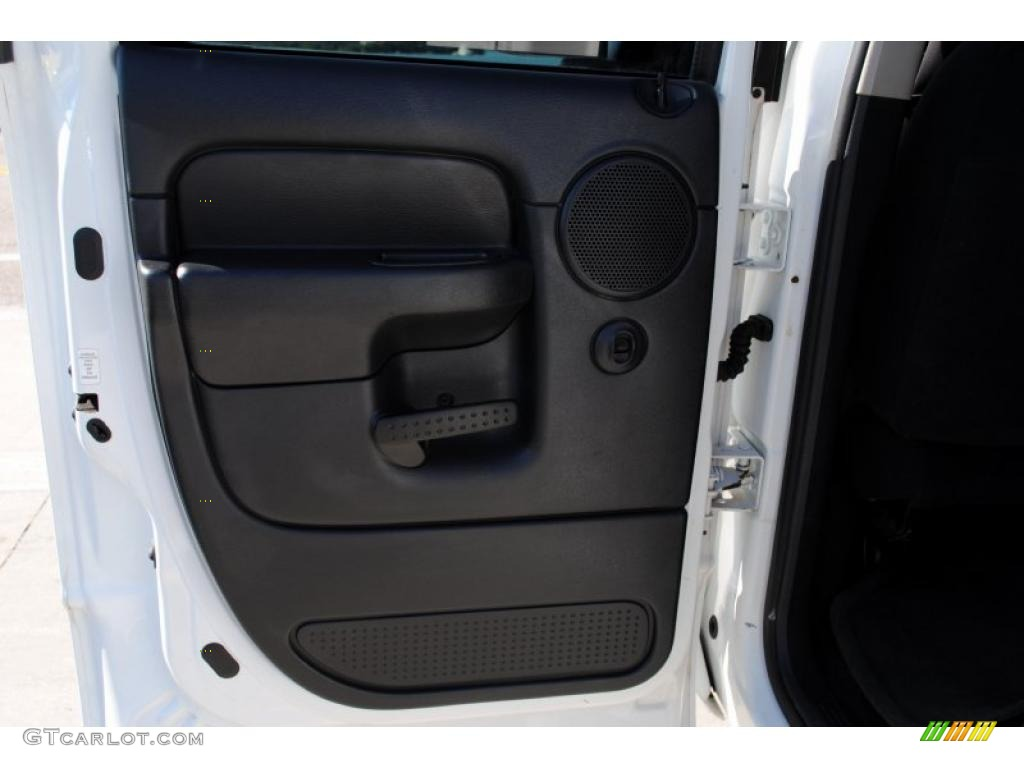 2002 Ram 1500 SLT Quad Cab 4x4 - Bright White / Dark Slate Gray photo #41