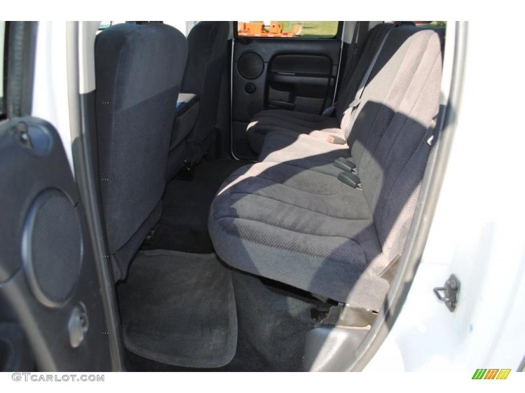 2002 Ram 1500 SLT Quad Cab 4x4 - Bright White / Dark Slate Gray photo #43