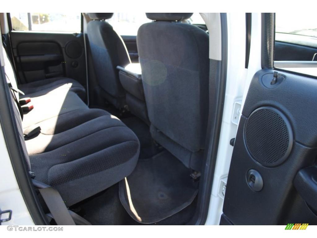 2002 Ram 1500 SLT Quad Cab 4x4 - Bright White / Dark Slate Gray photo #44