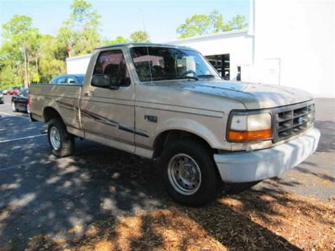 1996 Ford F150 XL Regular Cab Data, Info and Specs