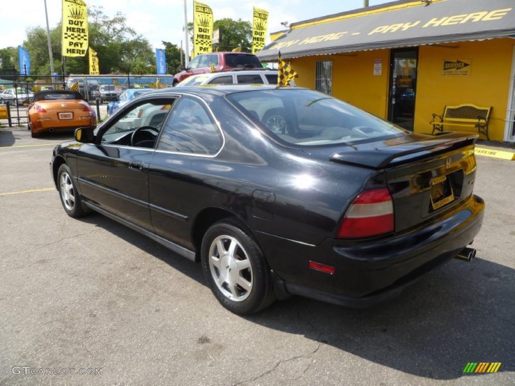 1995 Granada Black Pearl Honda Accord Ex Coupe 46957706