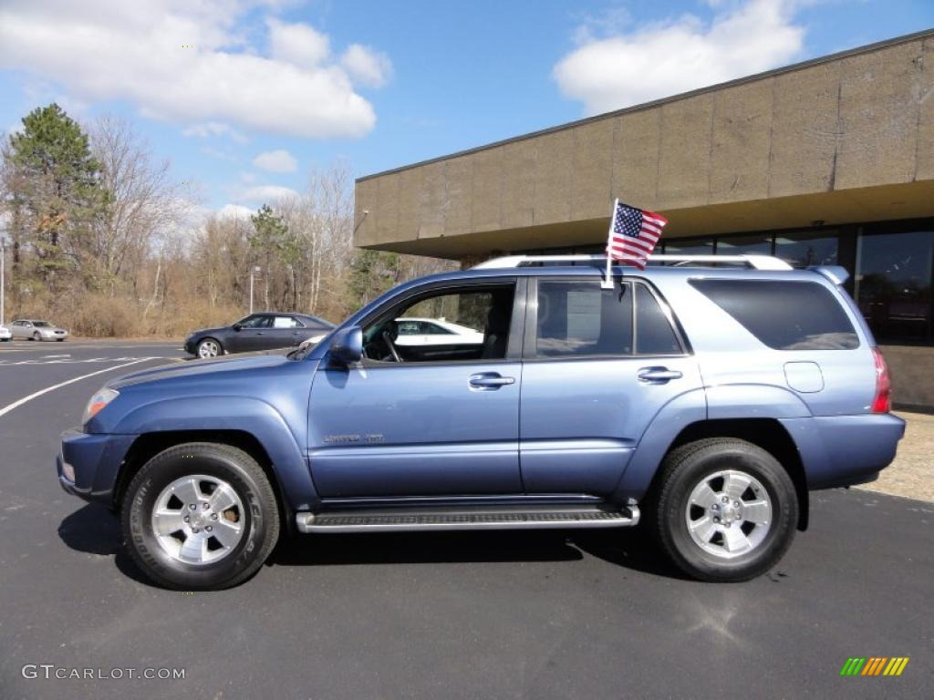 Pacific Blue Metallic 2003 Toyota 4runner Limited 4x4