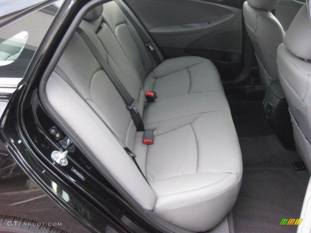 Gray Interior 2011 Hyundai Sonata Limited 2 0t Photo 46961859