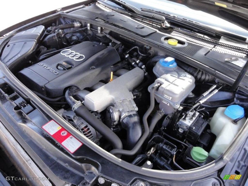 2003 audi a4 1 8t quattro avant 1 8l turbocharged dohc 20v