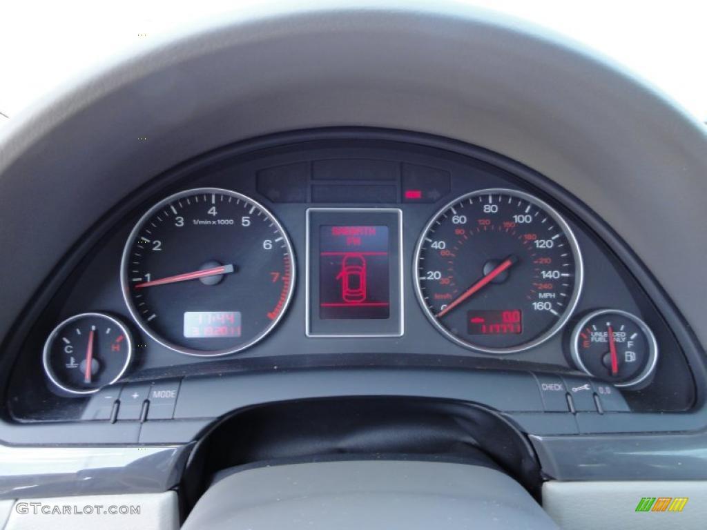 2003 audi a4 1.8t quattro avant gauges photo #46962762   gtcarlot