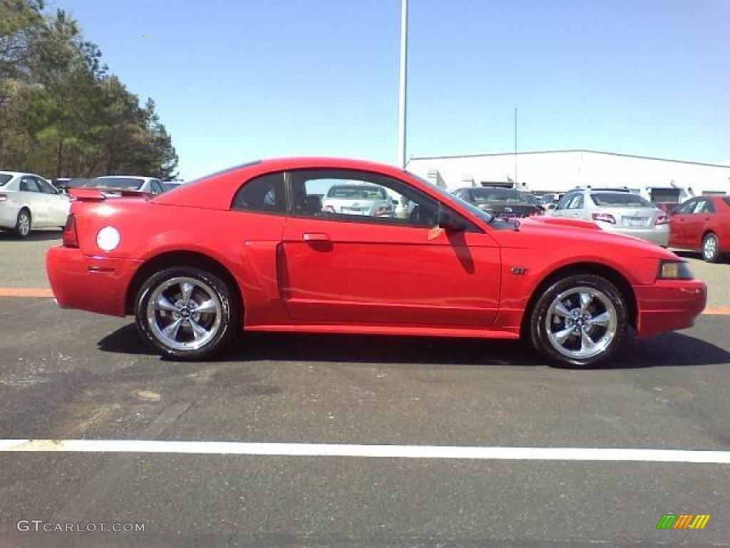 torch red 2003 ford mustang gt coupe exterior photo 46965054. Black Bedroom Furniture Sets. Home Design Ideas