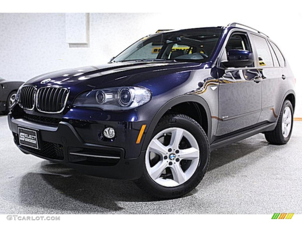 2008 monaco blue metallic bmw x5 46966727 car color galleries. Black Bedroom Furniture Sets. Home Design Ideas
