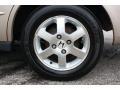 2000 Accord SE Sedan Wheel
