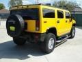 Yellow 2006 Hummer H2 SUV Exterior