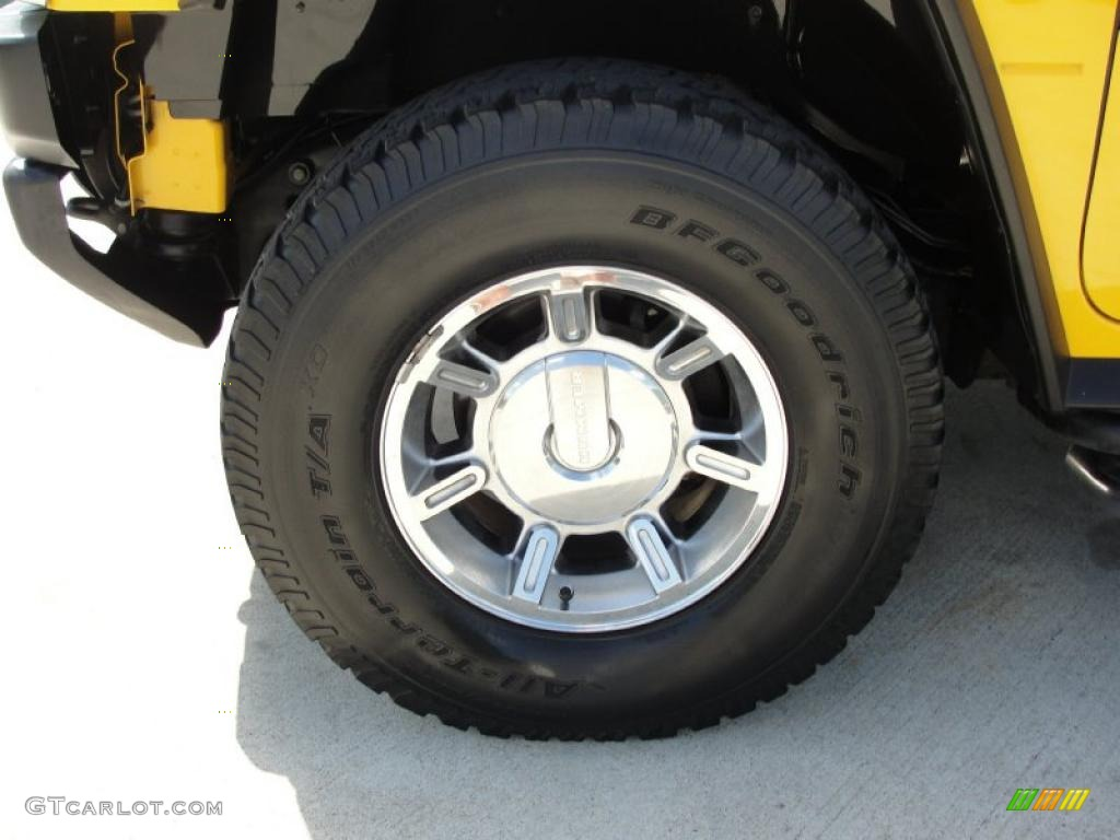 2006 Hummer H2 SUV Wheel Photo #46978734