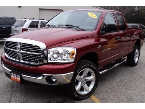 2007 Dodge Ram 1500 Lone Star Quad Cab 4x4 Data, Info and Specs