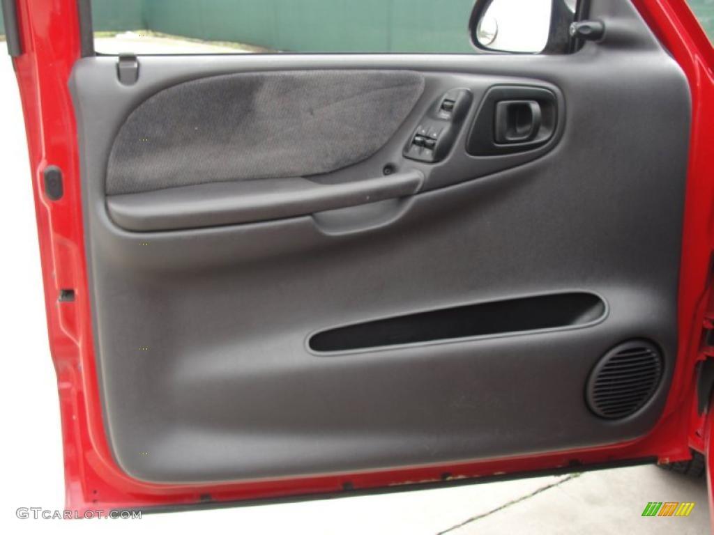 2000 Dodge Dakota Slt Extended Cab Agate Door Panel Photo 46992168