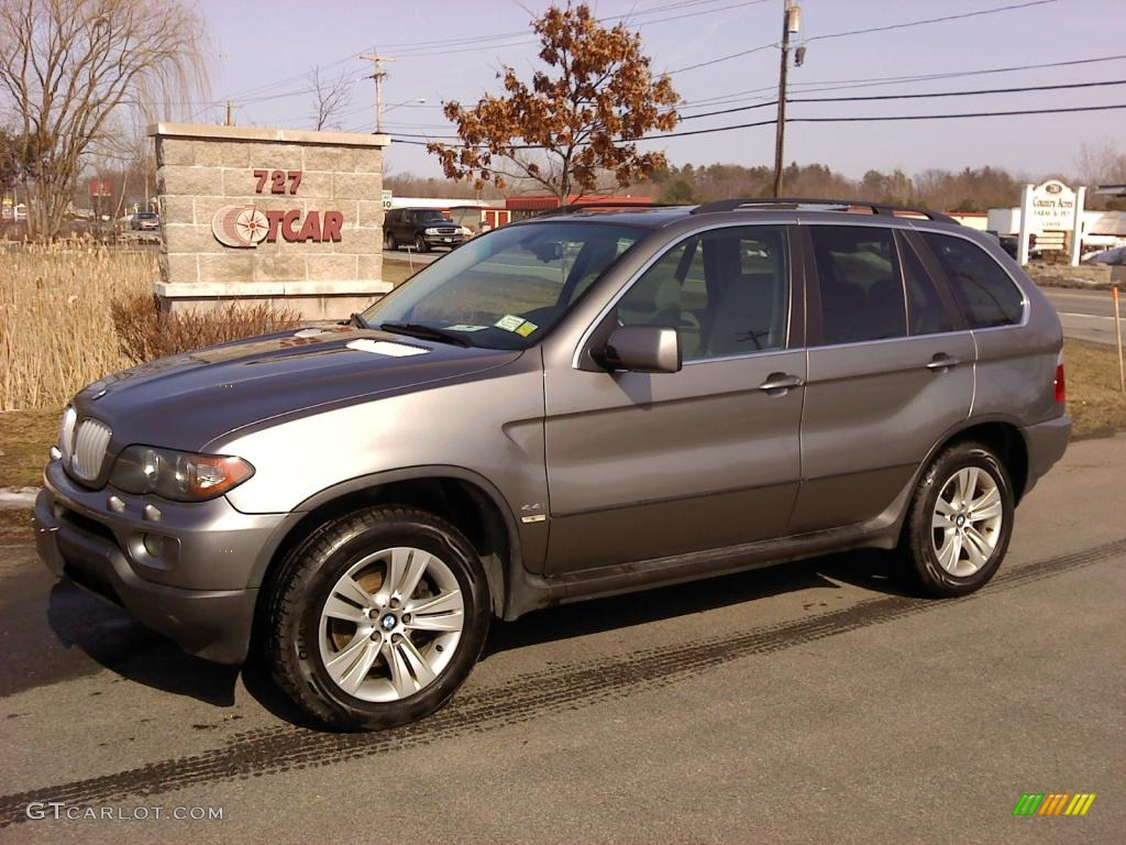 2004 Sterling Grey Metallic Bmw X5 4 4i 46966914