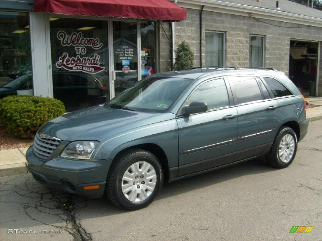 2005 pacifica magnesium green pearl light taupe photo 1. Cars Review. Best American Auto & Cars Review