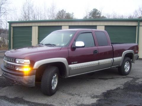 2001 Chevrolet Silverado 1500 LS Extended Cab 4x4 Data, Info and Specs