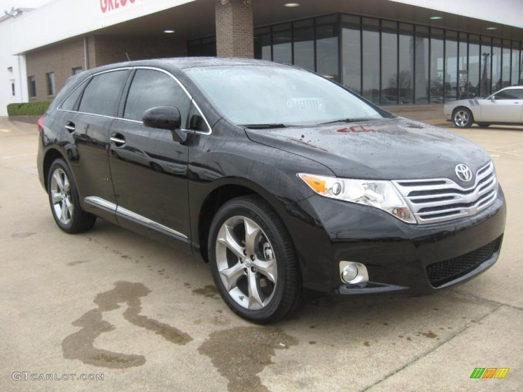 2011 black toyota venza v6 47005671 photo 4 gtcarlot. Black Bedroom Furniture Sets. Home Design Ideas
