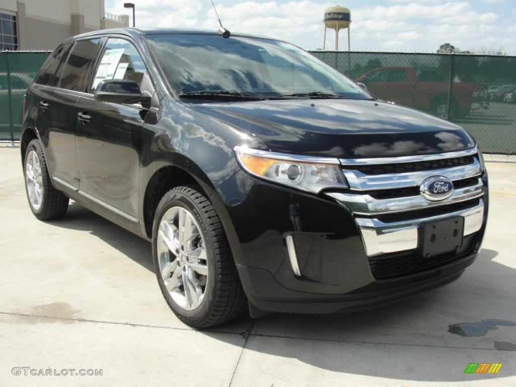 tuxedo black metallic 2011 ford edge limited exterior photo 47023395. Black Bedroom Furniture Sets. Home Design Ideas