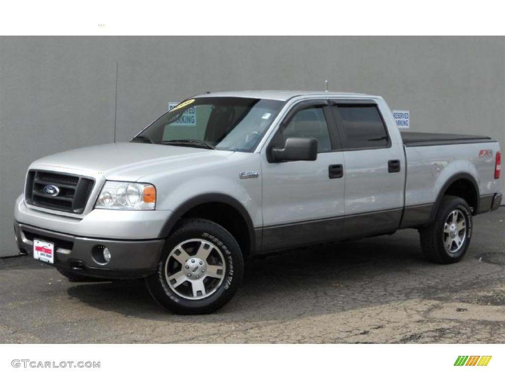 2008 Silver Metallic Ford F150 Fx4 Supercrew 4x4 47005366
