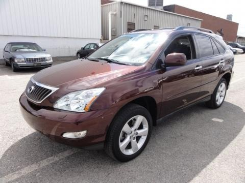 2008 Lexus RX 350 AWD Data, Info and Specs